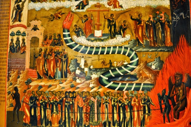 A Russian Icon of the Last Judgment at the Gallery of Palazzo Leoni Montanari in Vicenza.jpg
