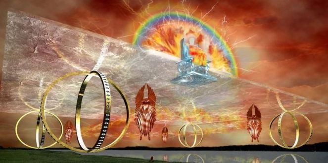Wheels Within Wheels: The First Vision of Ezekiel | Eclectic Orthodoxy